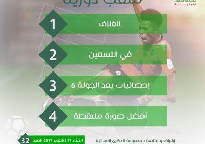 نشرة ملعب دورينا العدد 32 اليوم الثلاثاء