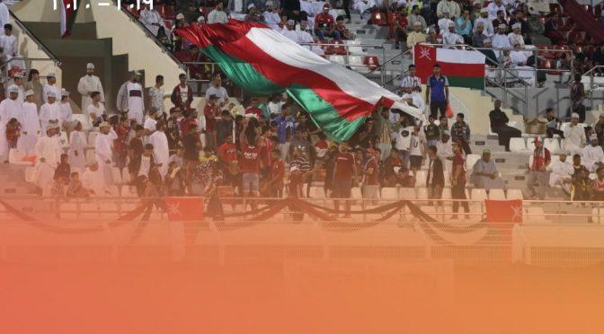 #أفضل_جمهور الجولة الثامنة ل #دوري_عمانتل للموسم ٢٠١٩-٢٠٢٠ جمهور نادي #الرستاق  من أختيار مجموعة #الذكرى_العُمانية