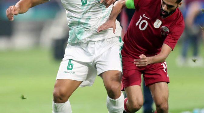 المنتخب العراقي يفوز على نظيره القطري ١/٢ في انطلاق منافسات بطولة كأس الخليج العربي لكرة القدم #خليجي٢٤ #الذكرى_العُمانية 