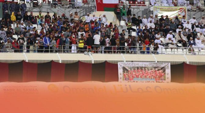 #أفضل_جمهور الجولة 12 ل #دوري_عمانتل للموسم ٢٠١٩-٢٠٢٠ جمهور نادي #الرستاق  من أختيار مجموعة #الذكرى_العُمانية