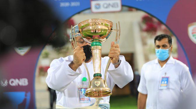 صور من أحداث المباراة النهائية لكاس جلالة السلطان لكرة القدم بين ظفار والسويق