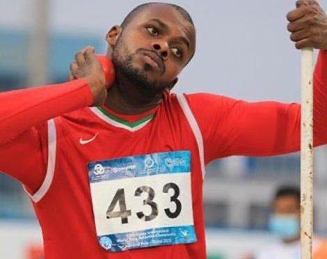 محمد المشايخي على المركز الثالث والميدالية البرونزية في مسابقة دفع الجلة في #دورة_الألعاب_البارالمبية #طوكيو2020